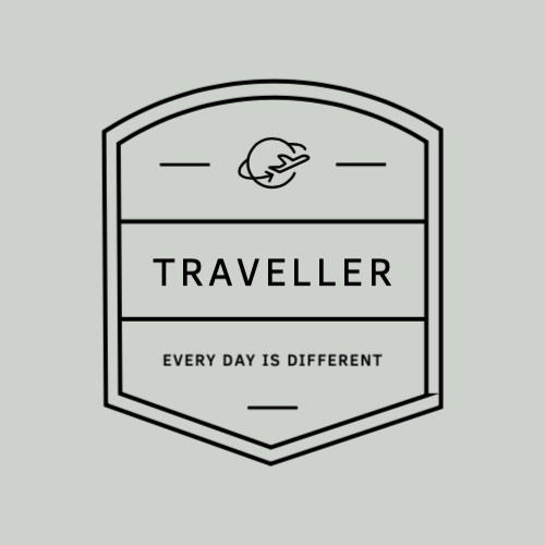 Traveller, Every Day Is Different Logo