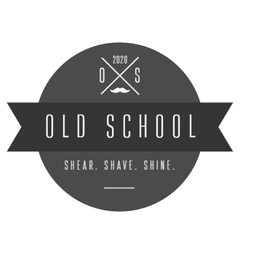 Barbershop vintage logo template