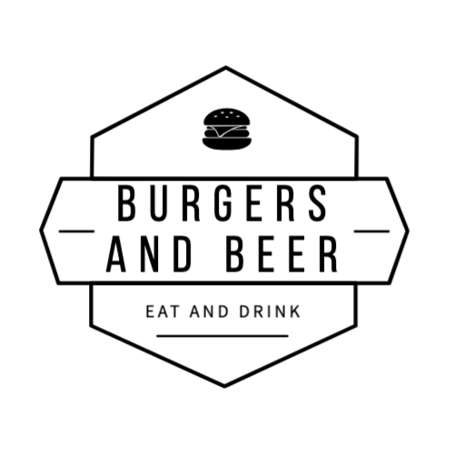 Burgers And Beer, Eat And Drink Logo