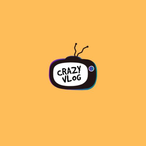 Crazy  Vlog Logo