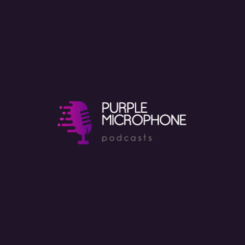 Purple Microphone, Podcasts Лого