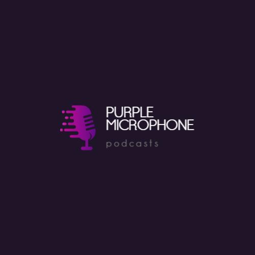 микрофон краска капли логотип