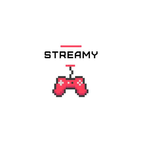 Pink Gamepad Pixel Art logo