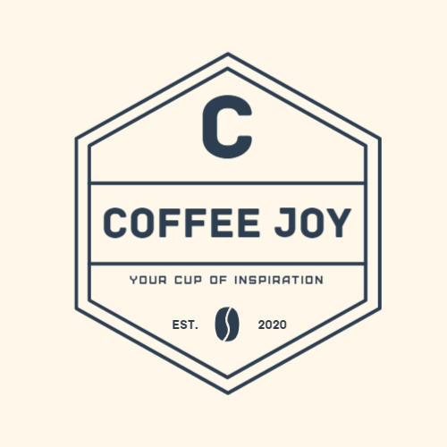 Coffee Joy, Your Cup Of Inspiration, Est., 2020 Logo