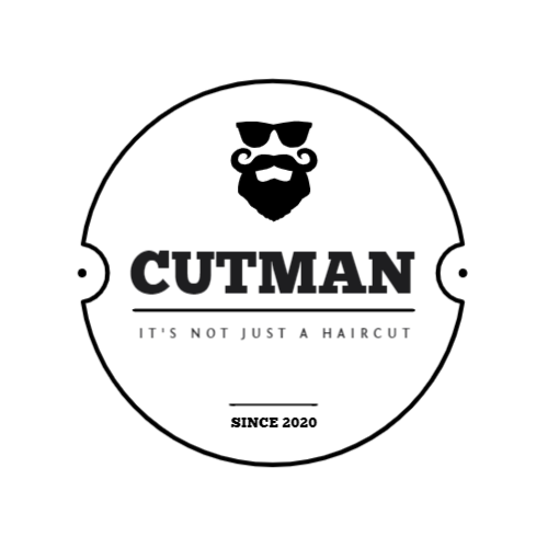 Cutman, It's Not Just A Haircut, Since 2020 Лого