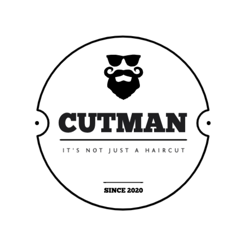 Cutman, It's Not Just A Haircut, Since 2020 Logo