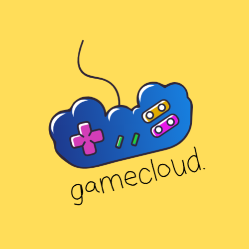 Gamepad Shaped Cloud logo