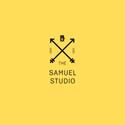 Photography studio logo template
