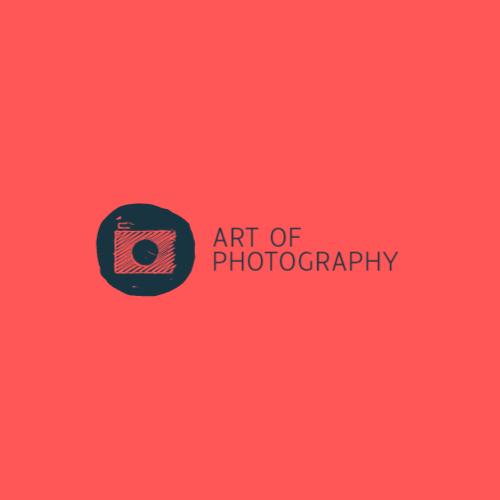красный логотип камеры