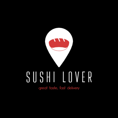 Shark logo for sushi bar