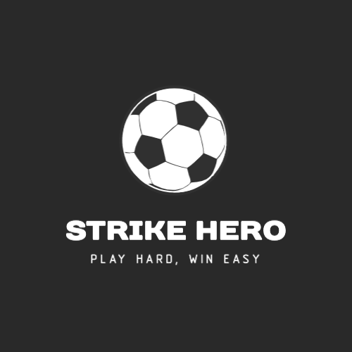 Strike Hero, Play Hard, Win Easy Logo