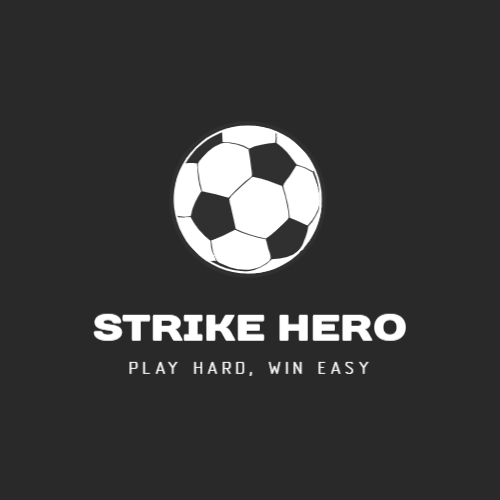 Strike Hero, Play Hard, Win Easy Logo