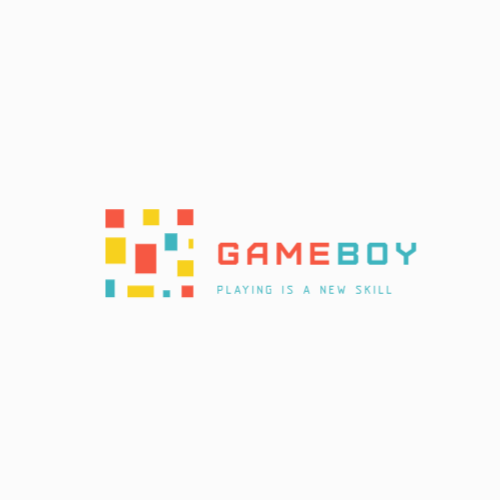 Gameboy, Playing Is A New Skill Logo