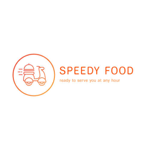 Moped Food Delivery logo