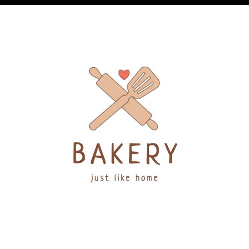 Bakery, Just Like Home Logo