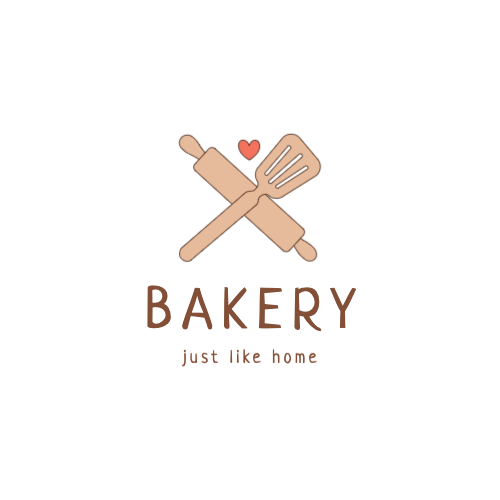 Bakery, Just Like Home Logo