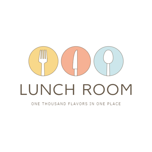 Lunch Room, One Thousand Flavors In One Place Logo