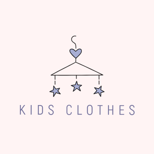 Brand kids clothes free logo