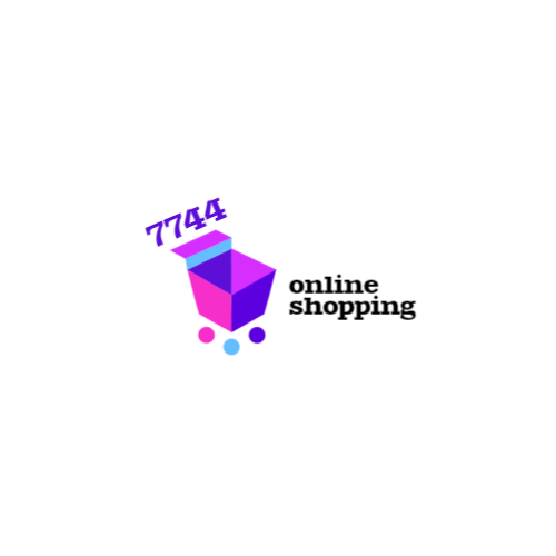 Shopping basket abstract logo