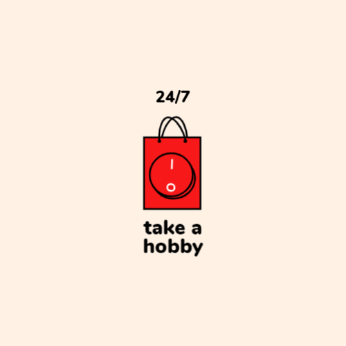 Red Bag with Button logo