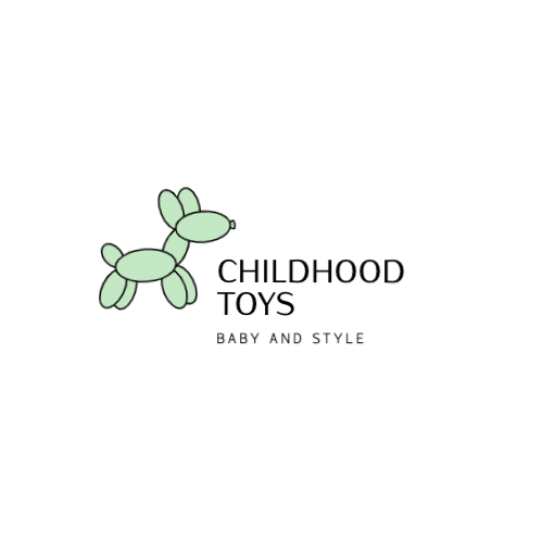 Childhood Toys, Baby And Style Logo
