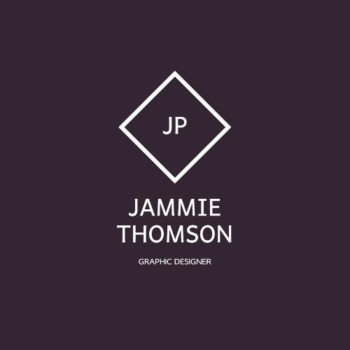 Jammie Thomson, Graphic Designer, Jp Logo