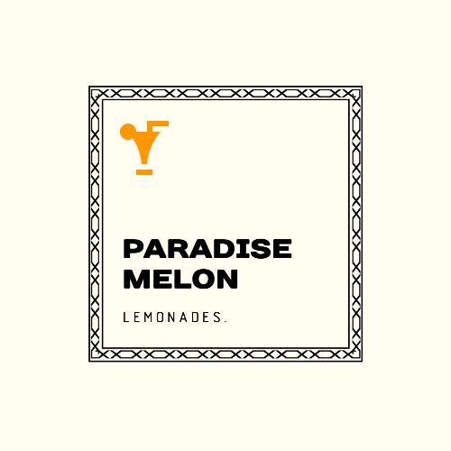 Paradise Melon, Lemonades. Logo