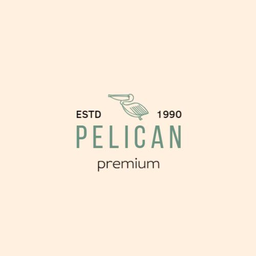зеленый пеликан логотип