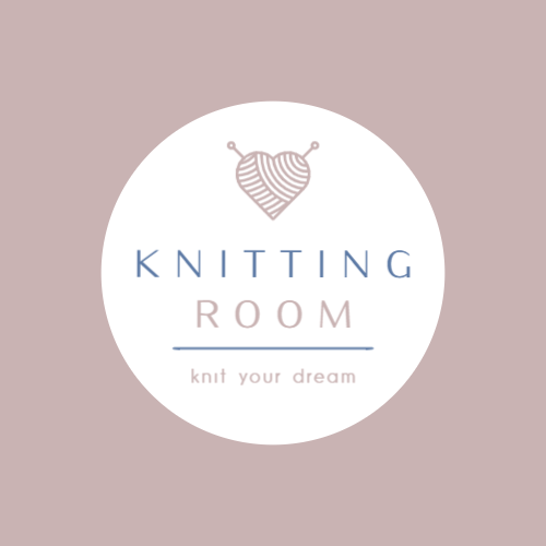 Store selling knitting materials logo
