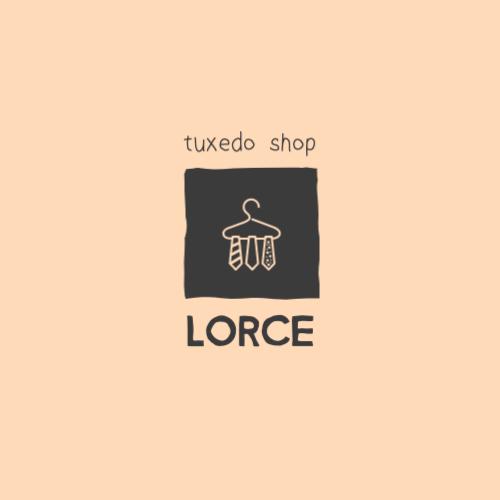 Lorce, Tuxedo Shop Logo