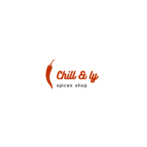 Chill & Ly, Spices Shop Logo