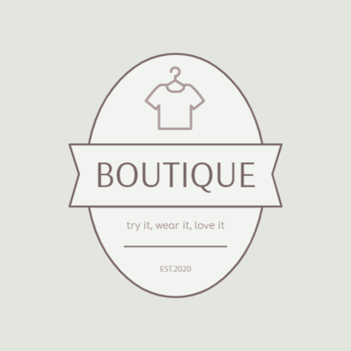 High quality clothing boutique logo