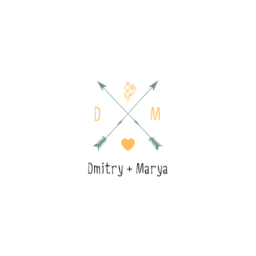 Dmitry + Marya Logo
