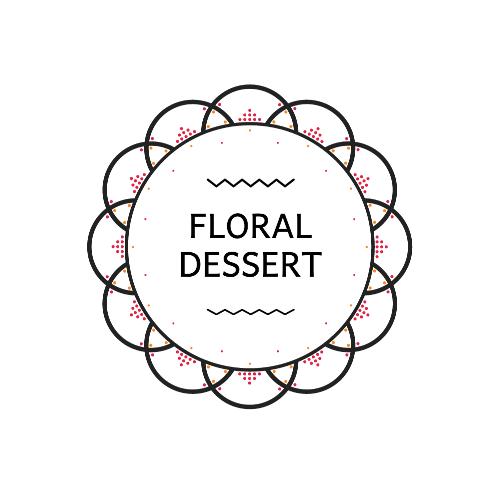 Floral Dessert Logo