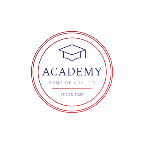 Blue Graduate Cap logo