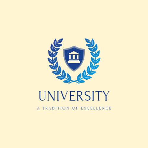 логотип университета лавровый венок