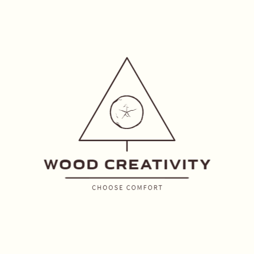 Wood furniture manufacturer logo