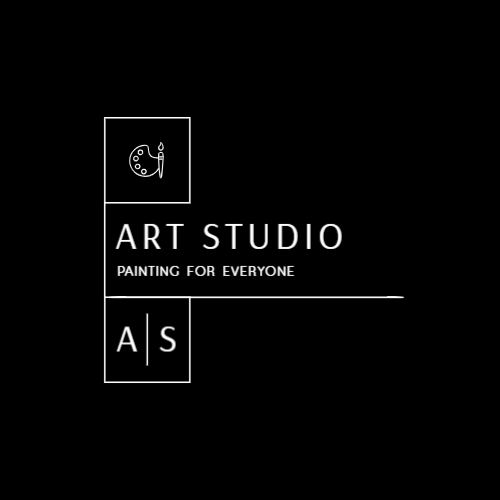 Art studio logo with the letters A and S