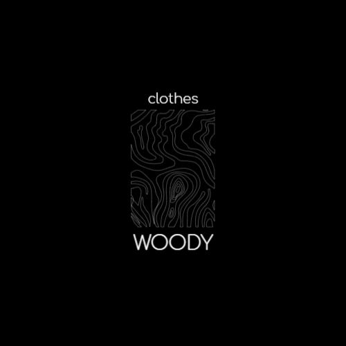 Minimalist Wood Texture logo