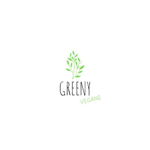 дизайн логотипа зеленых растений