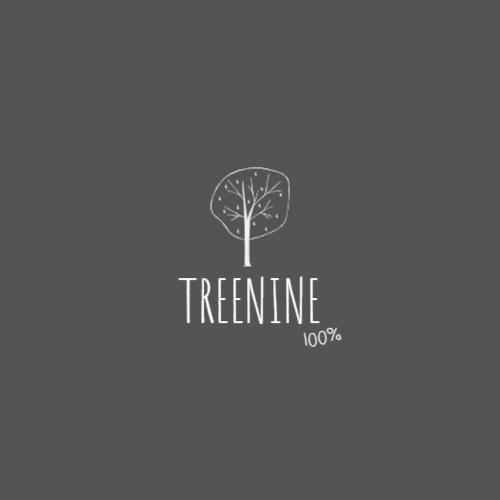 минималистичный шаблон дерева логотип