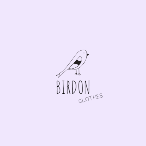 Drawing Cute Bird logo