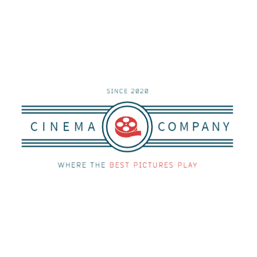 Cinema logo with film strip