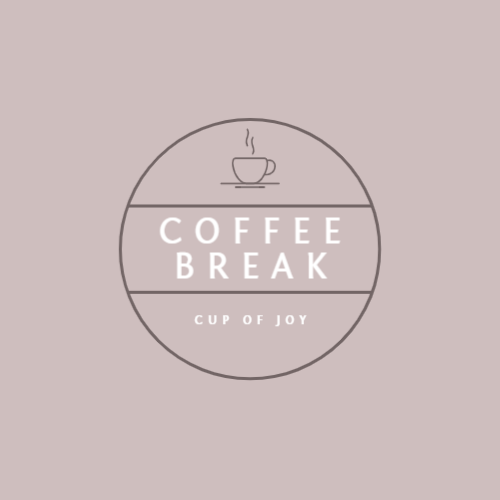 Coffee shop or cafe logo design