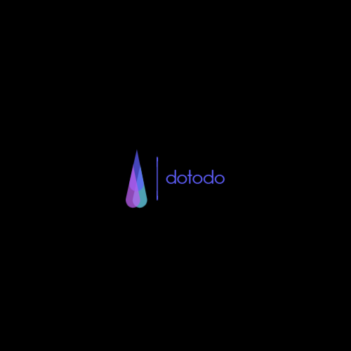 Color Drop Gradient logo