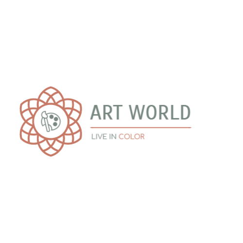 Art supplies store logo