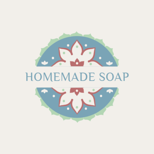 Homemade soap shop logo