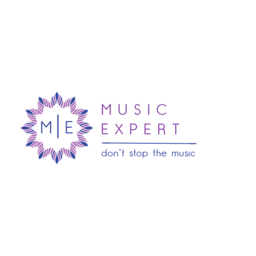 Music equipment store logo