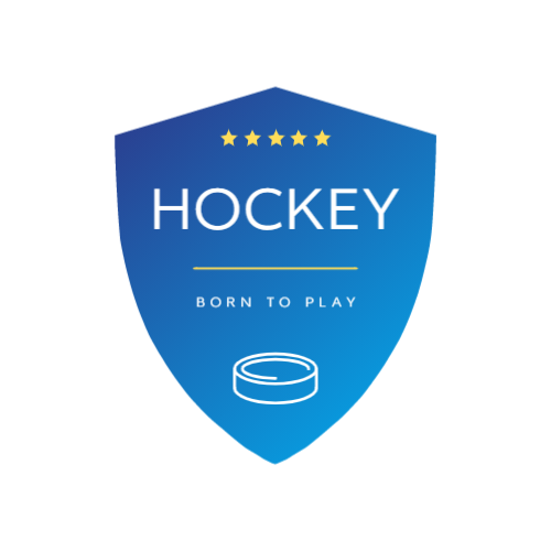 Blue Shield & Hockey Puck logo