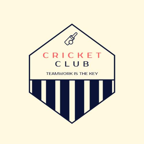 Professional cricket club logo
